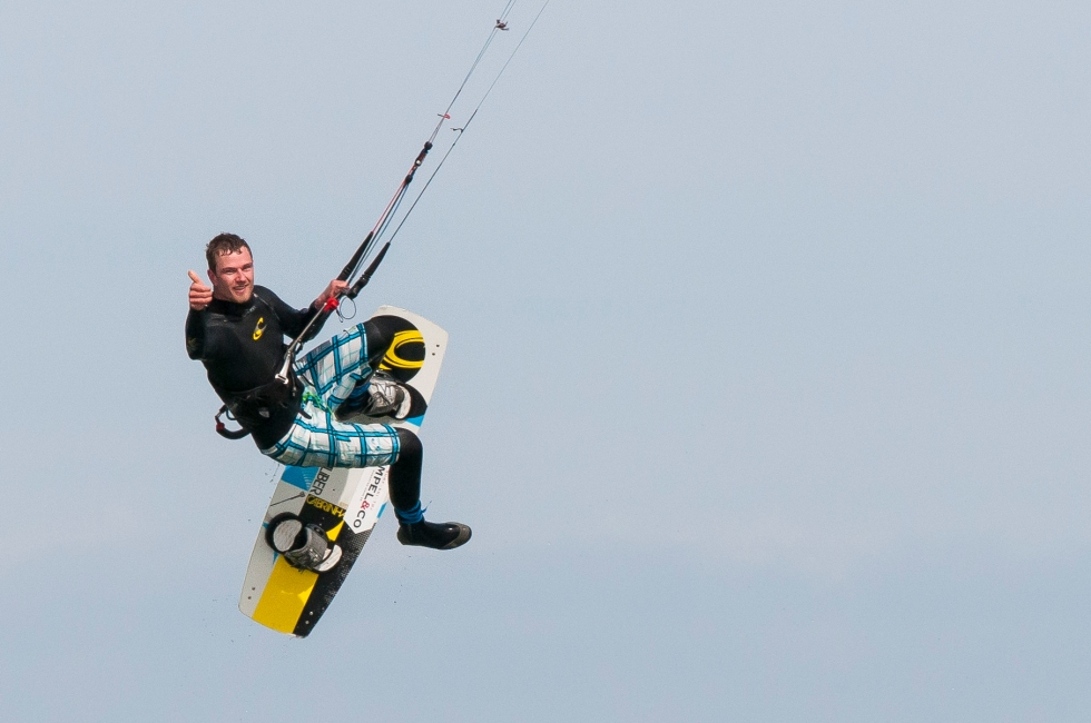 kitesurfing move