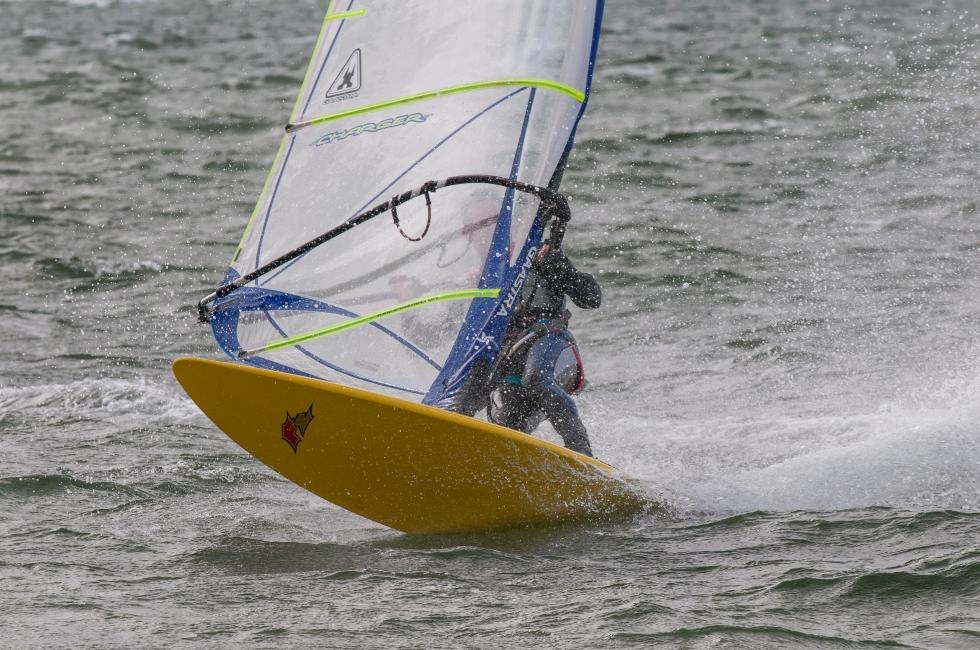 windsurfing in Denmark