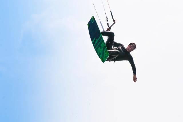 kitesurfing in Denmark