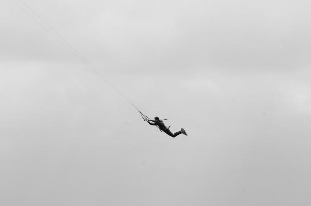 Kitesurfer Kiteboarding