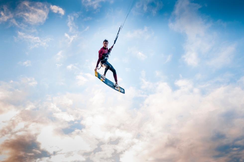 Cabrinha Kiteboard test