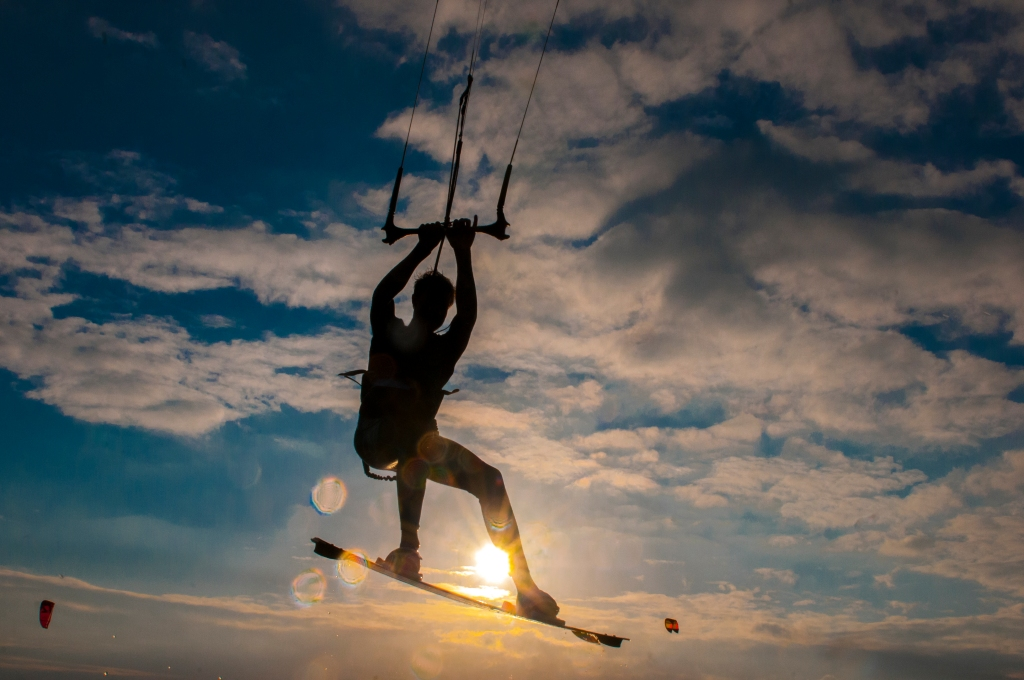 Kiteboard test by danish Pro Oliver Lubbert
